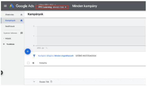 google-ads-alapok-mcc-szint